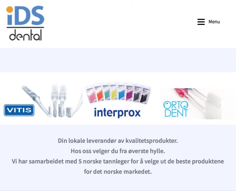 ids dental nettbutikk